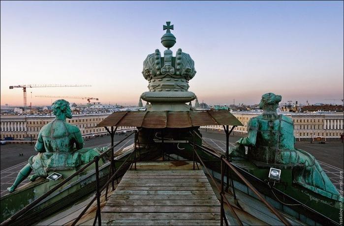 Виды Петербурга фото руфера Виталия Раскалова 49
