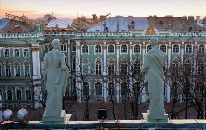 Виды Петербурга фото руфера Виталия Раскалова 51