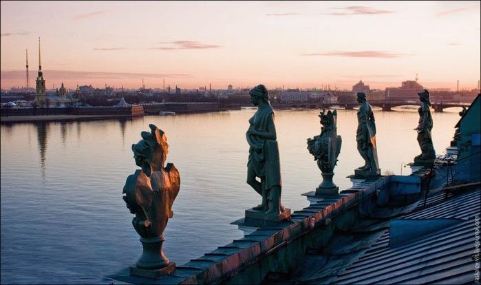 Виды Петербурга фото руфера Виталия Раскалова 52