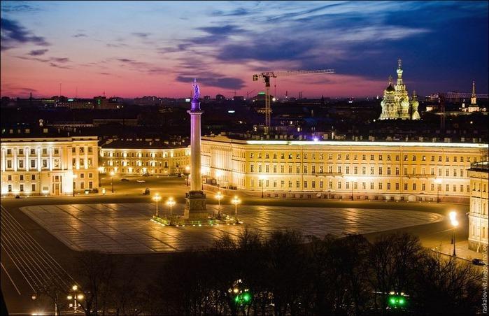 Виды Петербурга фото руфера Виталия Раскалова 54