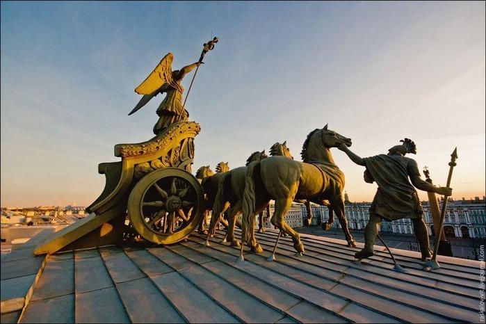 Виды Петербурга фото руфера Виталия Раскалова 58