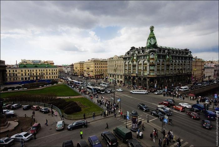 Виды Петербурга фото руфера Виталия Раскалова 59