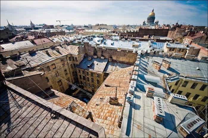 Виды Петербурга фото руфера Виталия Раскалова 61
