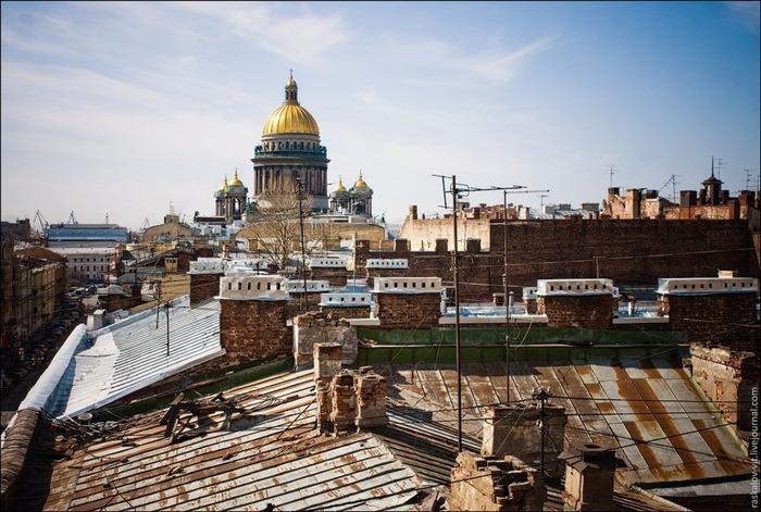 Виды Петербурга фото руфера Виталия Раскалова 62