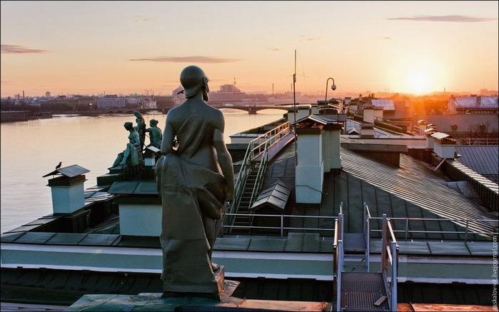 Виды Петербурга фото руфера Виталия Раскалова 64