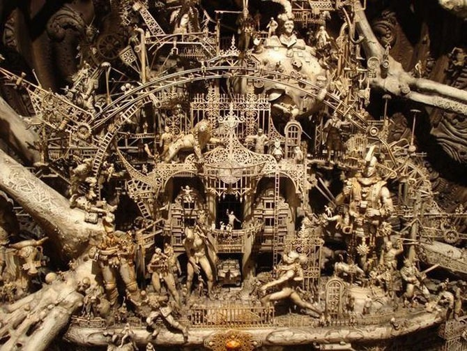 Мастера скульптуры - Крис Кукси (Kris Kuksi) 3