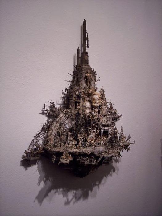 Мастера скульптуры - Крис Кукси (Kris Kuksi) 10