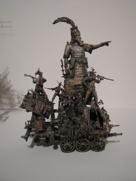 Мастера скульптуры - Крис Кукси (Kris Kuksi) 12