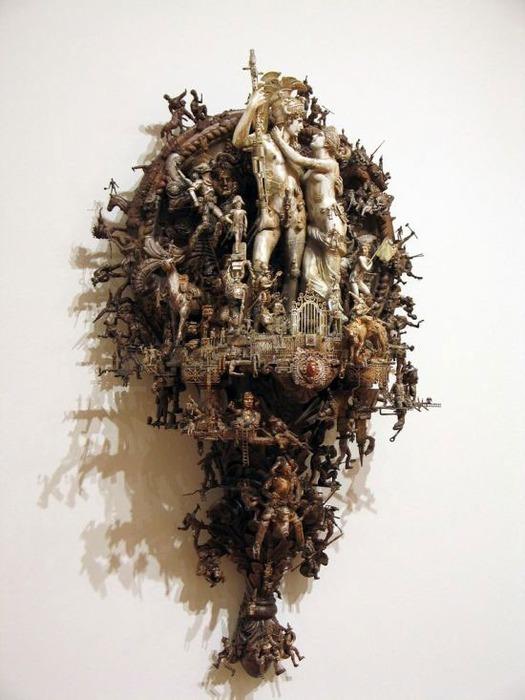 Мастера скульптуры - Крис Кукси (Kris Kuksi) 19