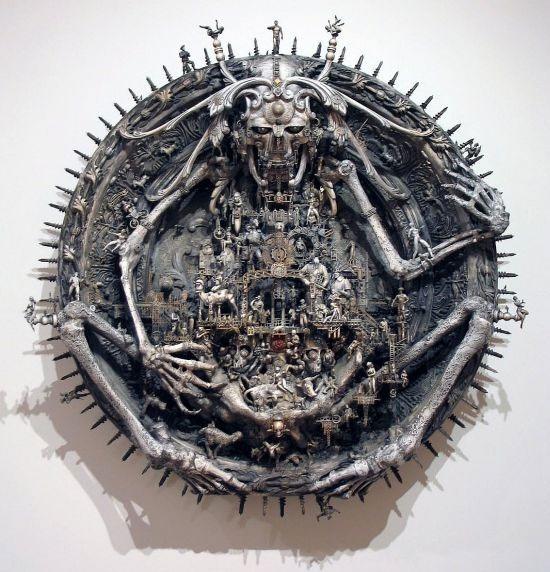 Мастера скульптуры - Крис Кукси (Kris Kuksi) 22