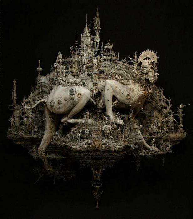 Мастера скульптуры - Крис Кукси (Kris Kuksi) 23