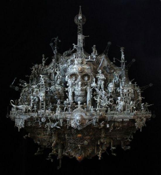 Мастера скульптуры - Крис Кукси (Kris Kuksi) 24