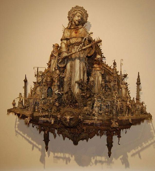 Мастера скульптуры - Крис Кукси (Kris Kuksi) 30