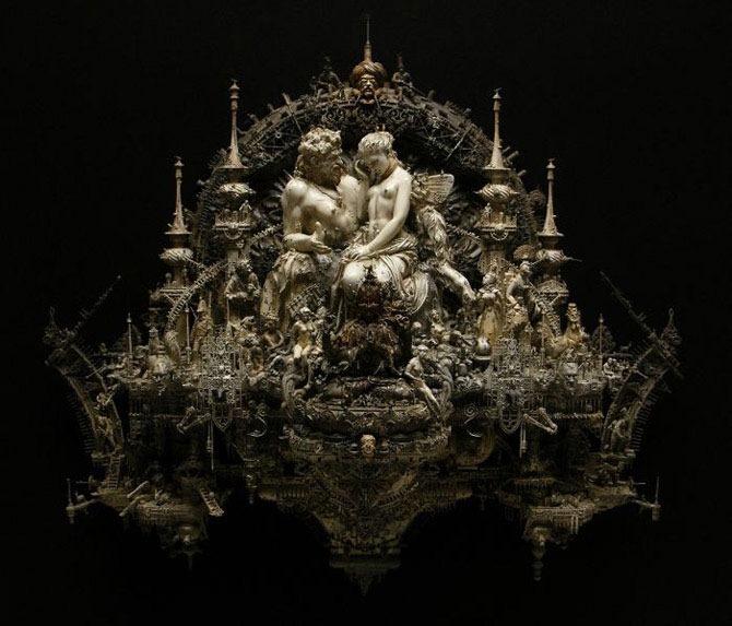 Мастера скульптуры - Крис Кукси (Kris Kuksi) 34