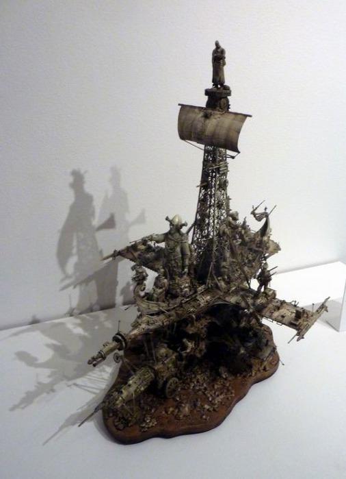 Мастера скульптуры - Крис Кукси (Kris Kuksi) 36