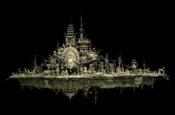 Мастера скульптуры - Крис Кукси (Kris Kuksi) 39