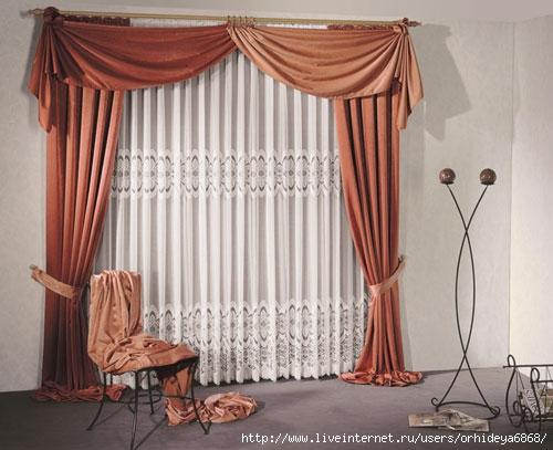 Как сшить шторы для гостиной своими руками фото