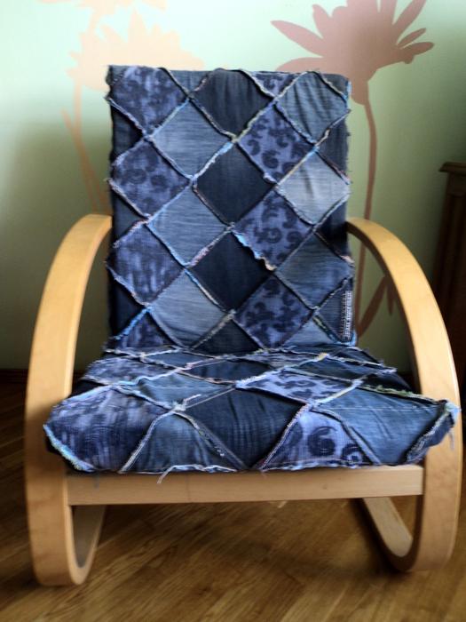 """Лоскутное кресло и стул:).  Прочитать целиком.  Для кресла чехол сшила года 2 назад так, как  """"оригинал """" был..."""