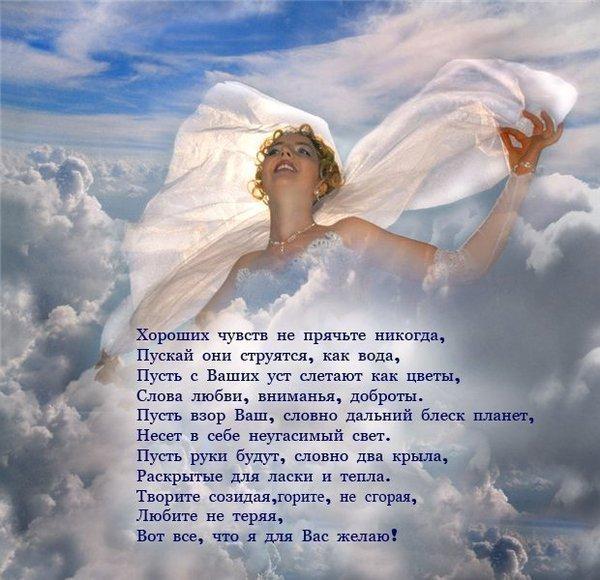 Я свободен от чувств стих