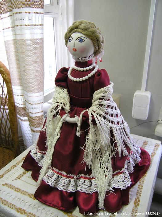 Курсы текстильной куклы в нижнем