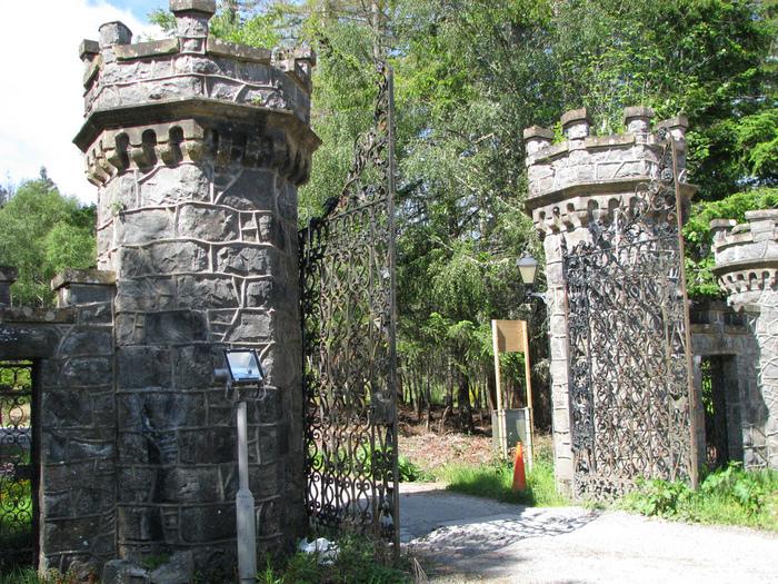 Замок Carbisdale, Шотландия 77471