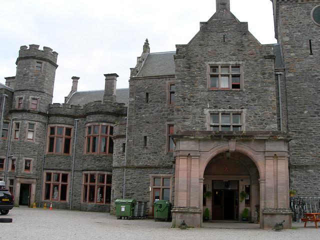 Замок Carbisdale, Шотландия 90393