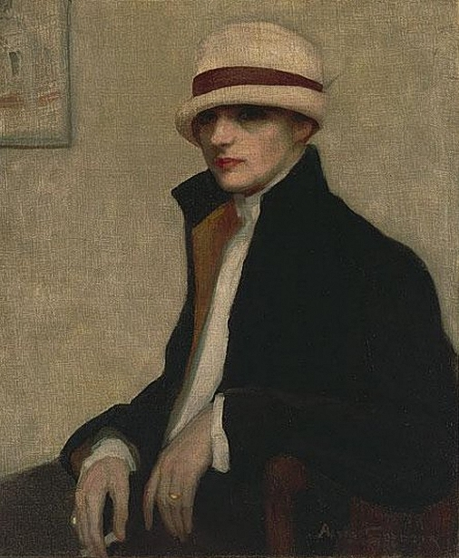Agnès Goodsir.the Parisienne (506x616, 240Kb)