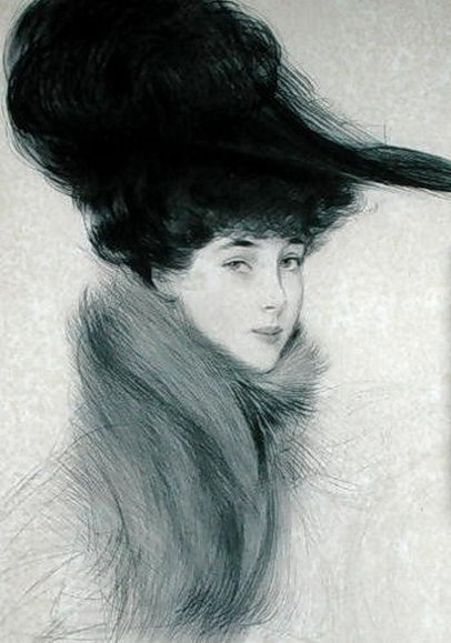 Paul_Cesar_Helleu_Consuelo_Vanderbilt_ (1877-1964) _Duchess_of_Marlborough, _c_1901 (406x579, 154Ko)