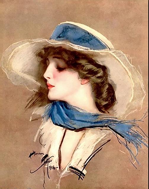 Dames chapeautées... 75181486_4