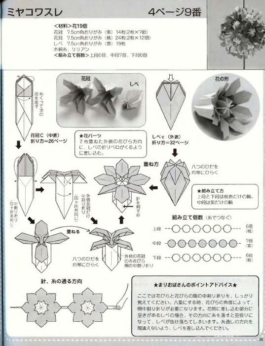 Mariko Kubo - Hana no kusudama_57 (537x700, 105Kb)