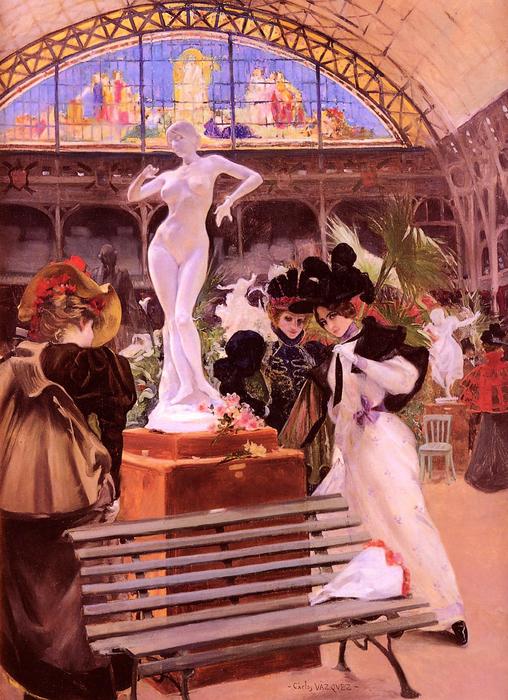 Obeda-Carlos-Vasquez-y.Cleo-De-Merode-Au-Salon (508x700, 436Kb)