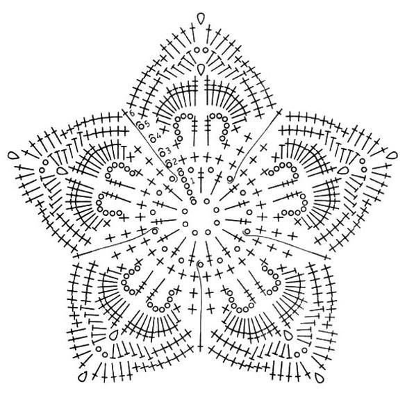 схема-вязания-цветка (596x579, 75Kb)