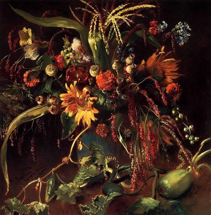 Цветы. 1884 (687x700, 96Kb)