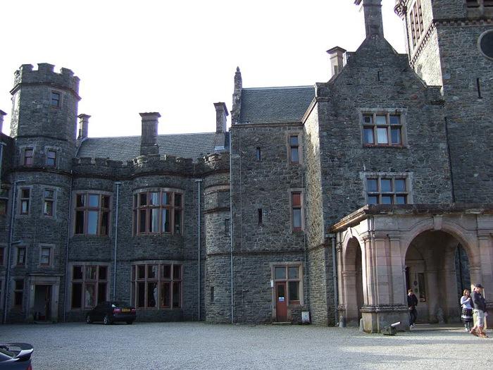 Замок Carbisdale, Шотландия 90445