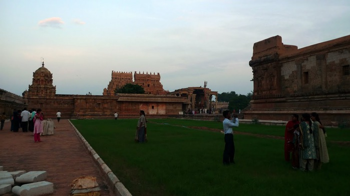 Танджавур - Брихандишвара Мандир (Brihadishwara Mandir) 56205