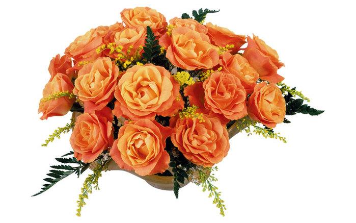 букет оранжевых роз (700x437, 77Kb)