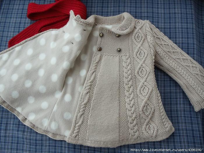 Вязанные спицами кардиганы для девочки 3 лет