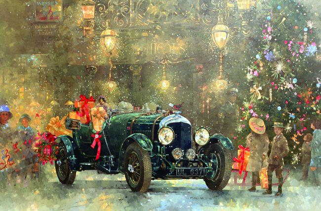Рождественнский Бентли. Питер Миллер (650x428, 103Kb)