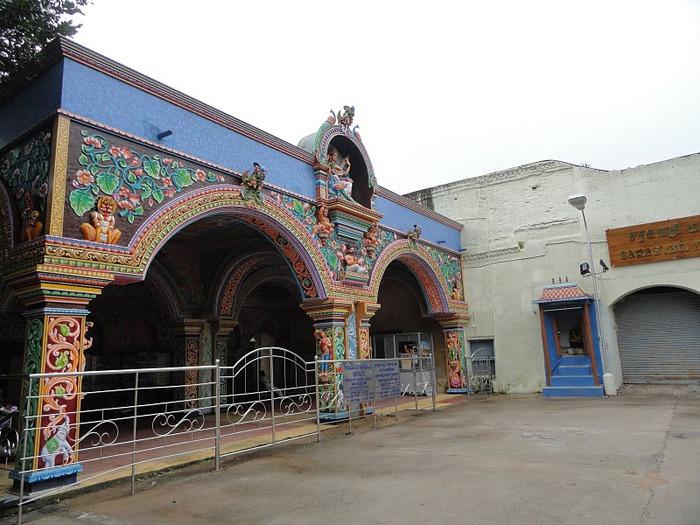 Танджавур - Дворец Наяков и музеи 98776