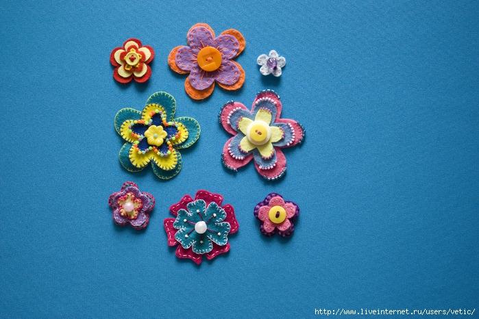 цветы из фетра 02 (700x466, 288Kb)