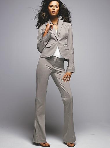 Модный женский деловой костюм Lookbook (6.