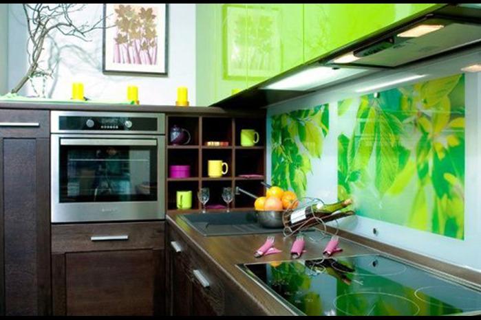 Дизайн стен кухни своими руками.