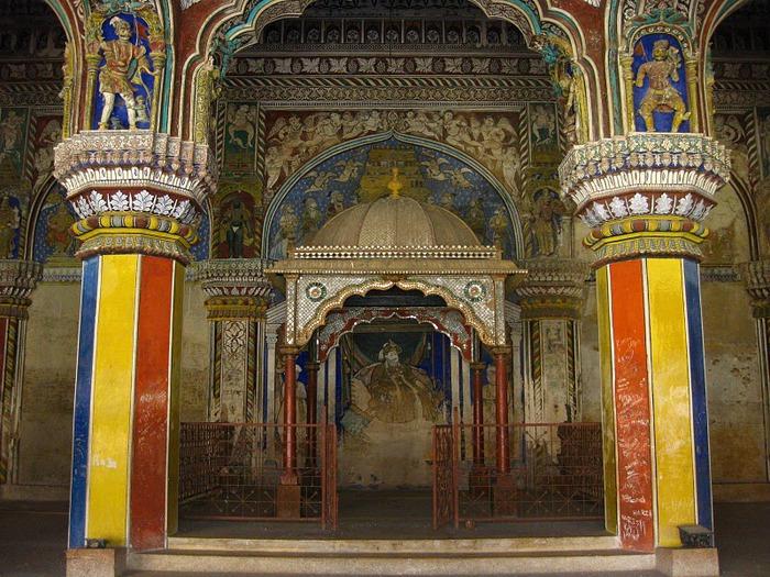 Танджавур - Дворец Наяков и музеи 66919