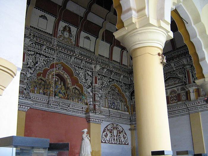 Танджавур - Дворец Наяков и музеи 14117