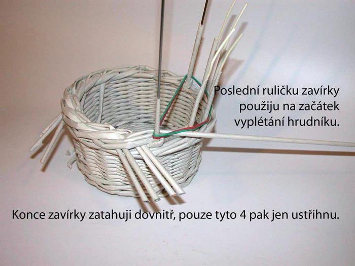 Из чего сделать форму для плетения газетными трубочками