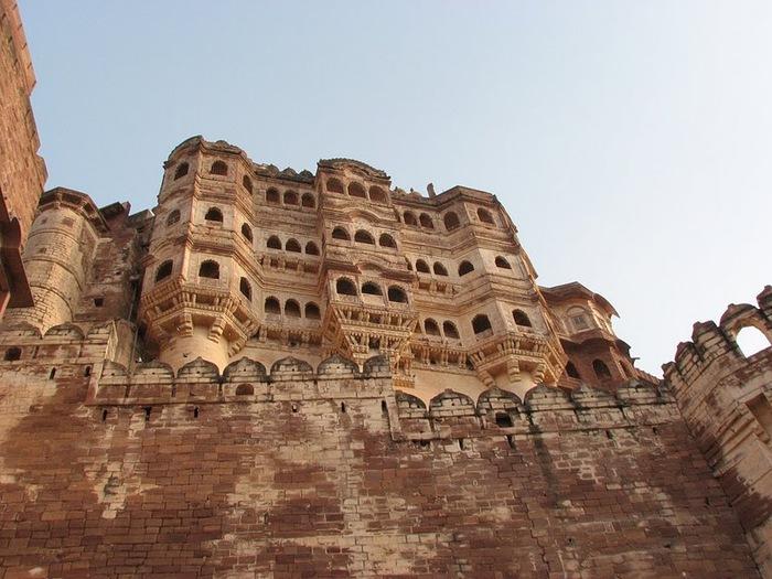Крепость Мехрангарх - Mehrangarh fort, Jodhpur 33856