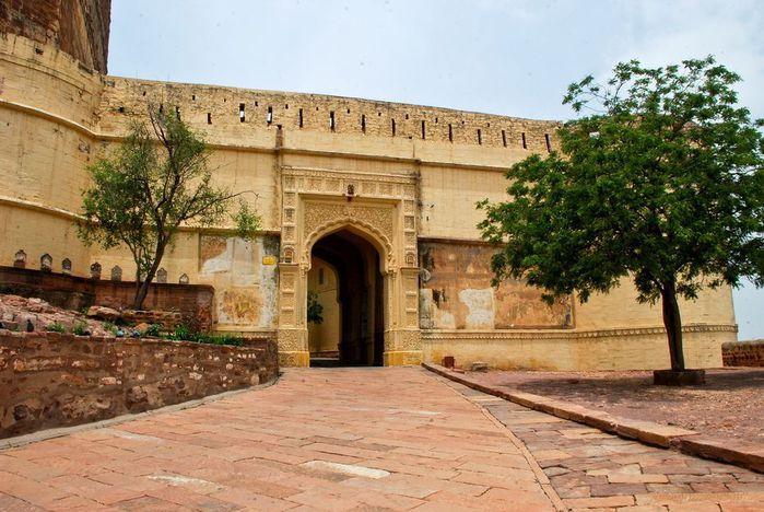Крепость Мехрангарх - Mehrangarh fort, Jodhpur 72056