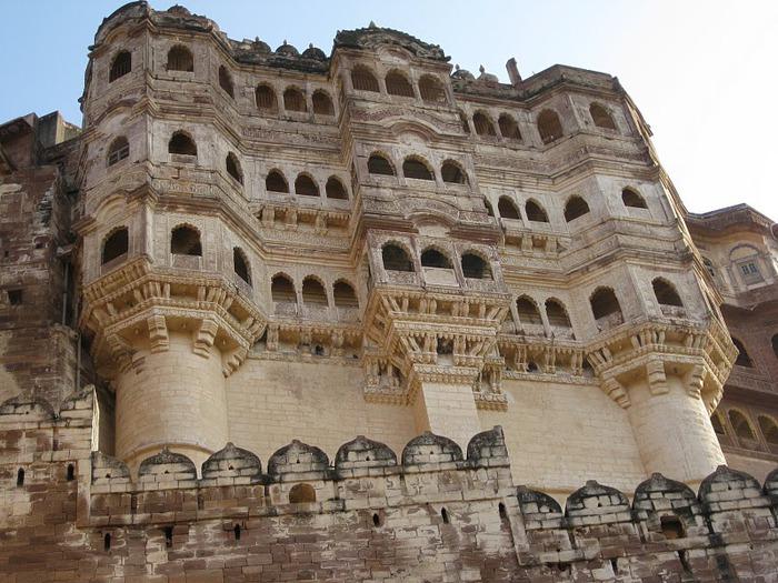 Крепость Мехрангарх - Mehrangarh fort, Jodhpur 83108