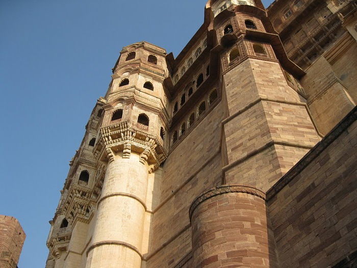 Крепость Мехрангарх - Mehrangarh fort, Jodhpur 61537