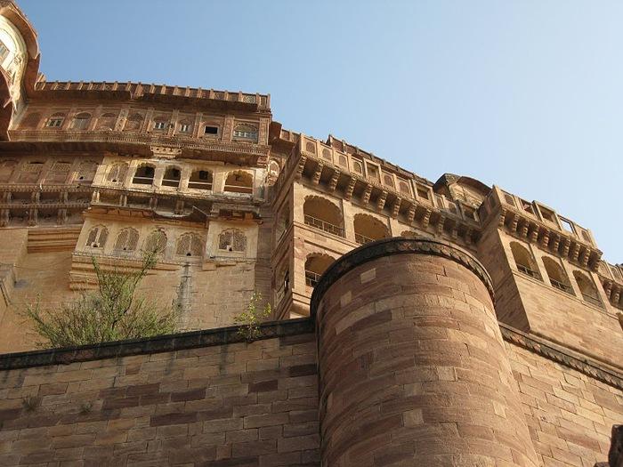 Крепость Мехрангарх - Mehrangarh fort, Jodhpur 11371